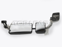 SINOTRUK HOWO Left Rear View Mirror Assembly (Including Wide Angle External Mirror)