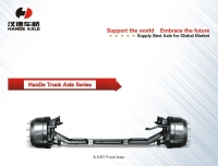 6.5T/8T Front Axle