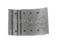 SINOTRUK HOWO Brake lining (front small 6 hole)