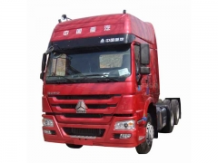 SINOTRUK HOWO 6x2 Tractor Truck With Two Bunks, Rear Axle Rised Tractor Truck, Trailer Head Online