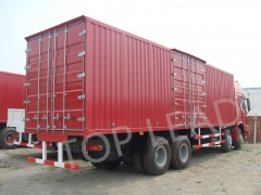 Best Hot Sale SINOTRUK HOWO 8x4 Side Wall Cargo Truck With Two Bunks, Fence Cargo Truck, Lorry Truck Online